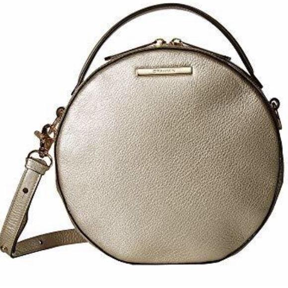 Brahmin Lane canteen platinum moonlit leather  bag